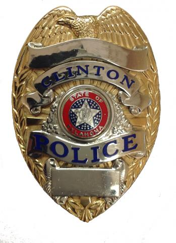 City of Clinton Police Badge Public Safety